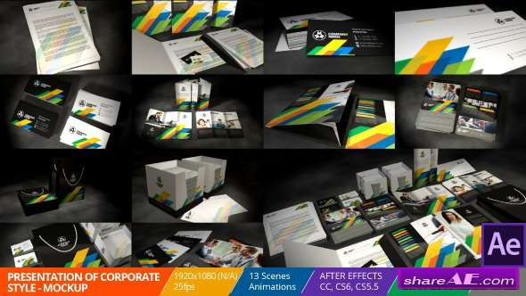 Videohive Presentation of Corporate Style - Mockup