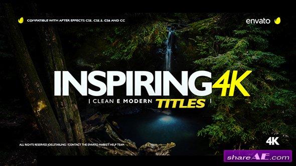 Videohive Inspiring Titles 2.0