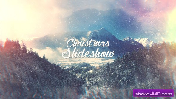 Videohive Christmas Slideshow 21033727