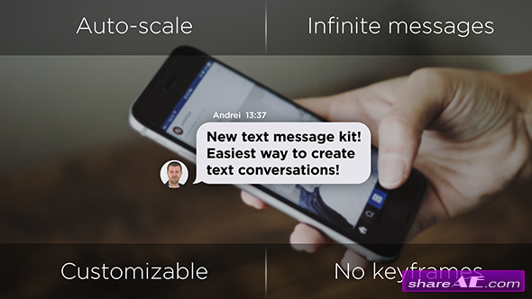 Videohive Text Message Generator