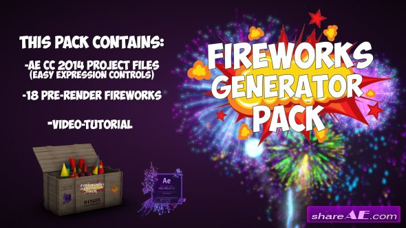 Videohive Fireworks