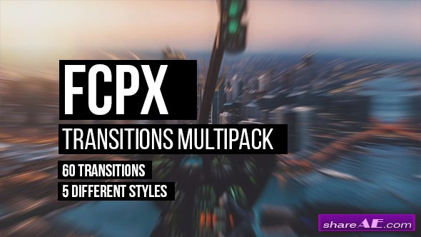 Videohive FCPX Transitions Multipack - Apple Motion Templates