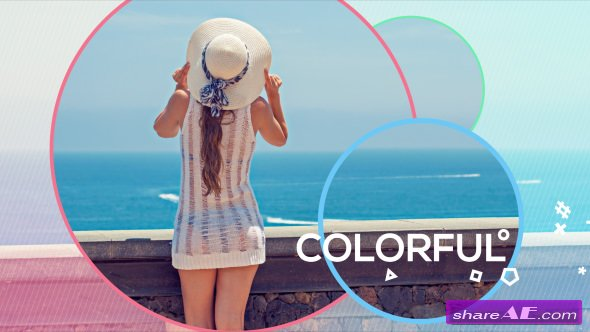 Videohive Colorful Opener 20676017