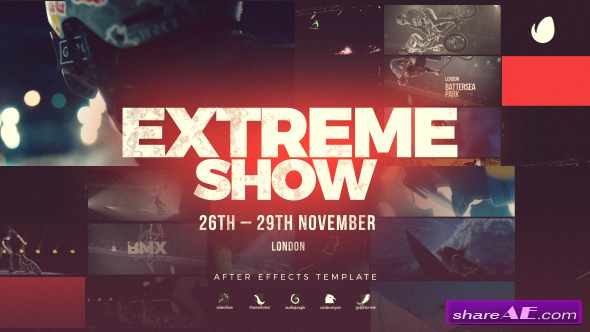 Videohive Extreme Show // Sport Event Promo