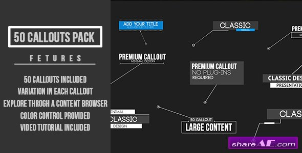 Videohive Callout Pack