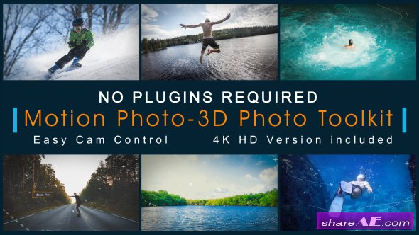 Videohive Motion Photo-3D Photo Toolkit