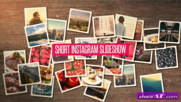 Videohive Short Instagram Slideshow