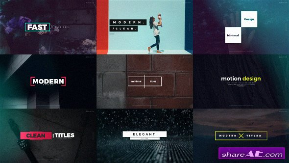 Videohive Quick Titles