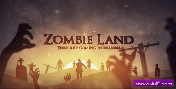 Zombie hell | after effects project youtube.