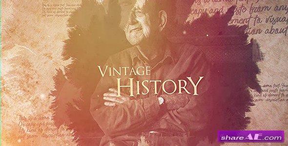 Videohive Vintage History