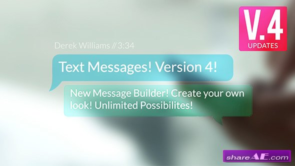 Videohive Text Messages v.4
