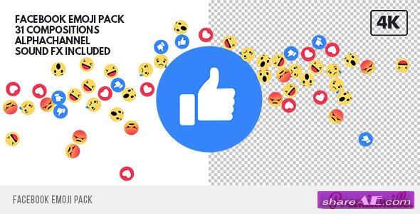 Videohive Facebook Emoji Pack