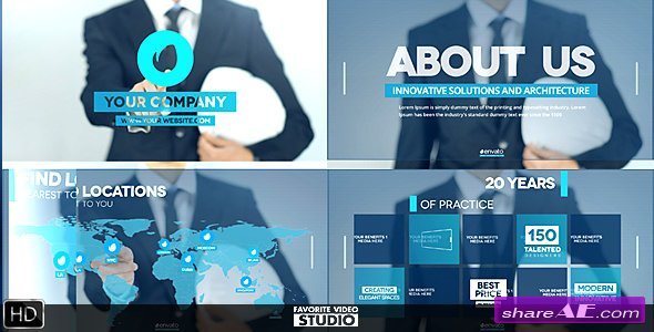 Videohive Future of Architecture