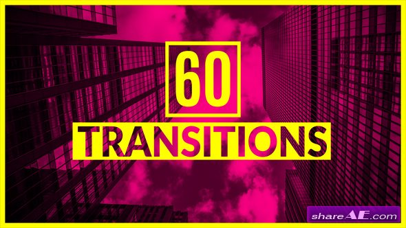 Videohive 60 Transitions