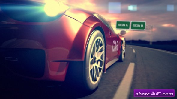 Videohive Car Racing Reveal