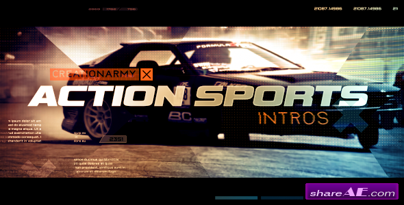 Videohive Action Sports Intro