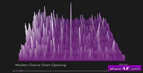 Videohive 3D Audio Spectrum Visualizer