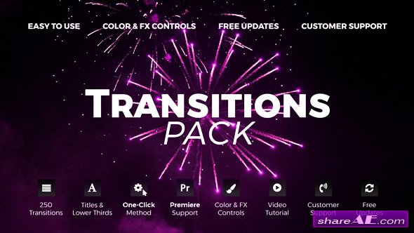 Videohive Transitions v.4 20139771
