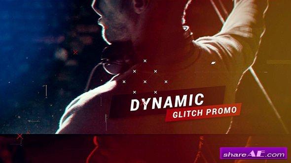 Videohive Dynamic Glitch Promo 21051264