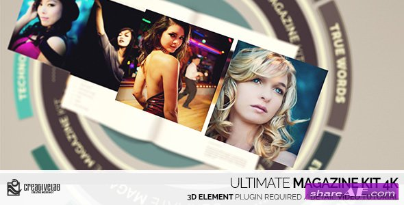 Videohive Ultimate Magazine Kit 4K