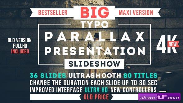 Big Typo Parallax Presentation - Videohive