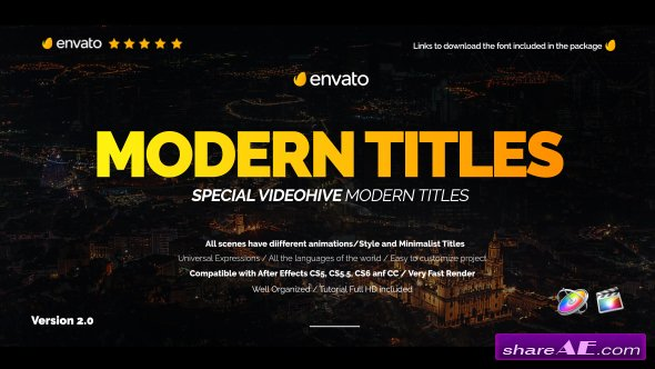 Videohive Modern Promo Titles Pack for FCPX