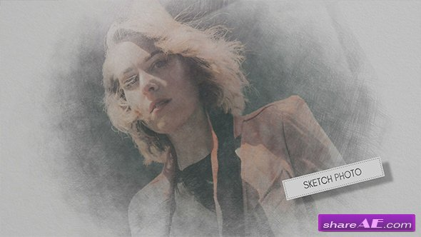 Videohive Hand Drawn Sketch Photo