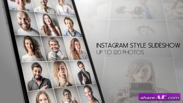 Videohive Instagram Slideshow