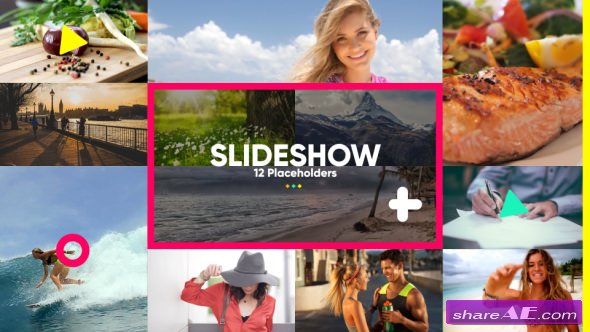 Videohive Slideshow Color