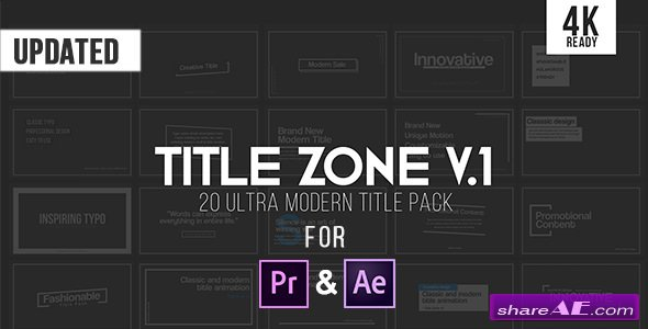 Videohive Title Zone V.1