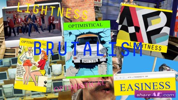 Videohive Brutalism