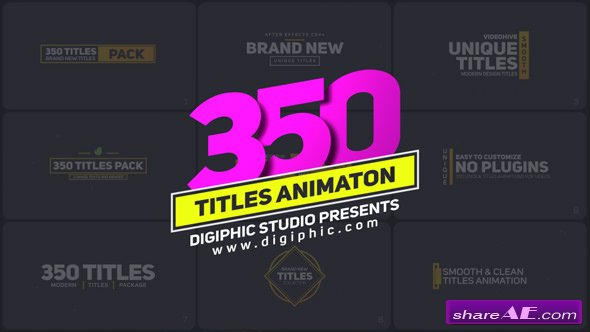 Videohive Titles 21243068