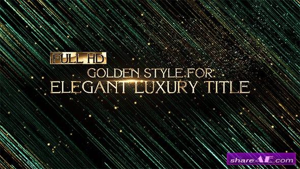 Videohive Elegant Luxury Title