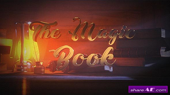 Videohive The Magic Book