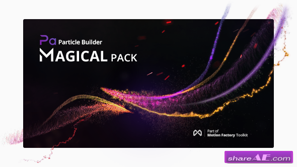 Videohive Particle Builder | Magical Pack: Magic Awards Abstract Particular Presets