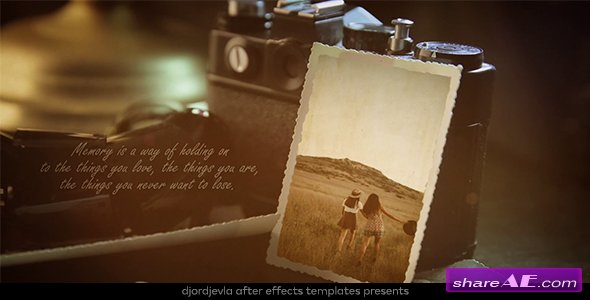 Videohive Vintage Lovely Memories