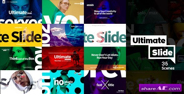 Videohive Ultimate Slide 1 | Slideshow Package