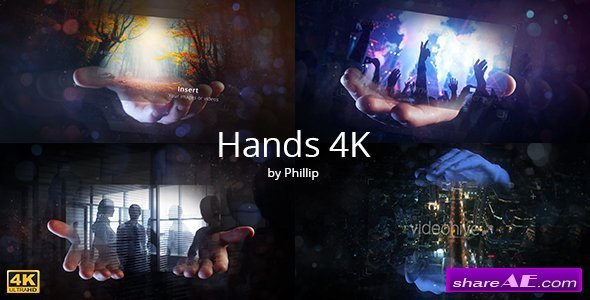 Videohive Hands 4K