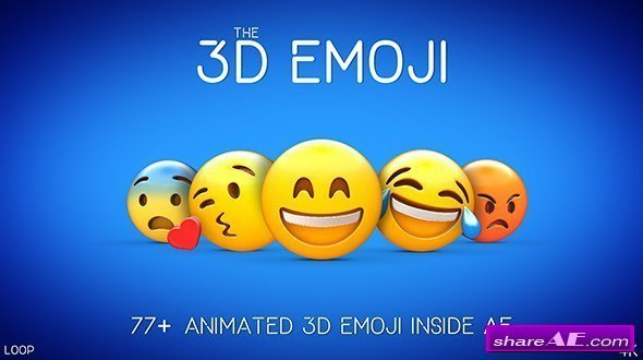 Videohive 3D EMOJI
