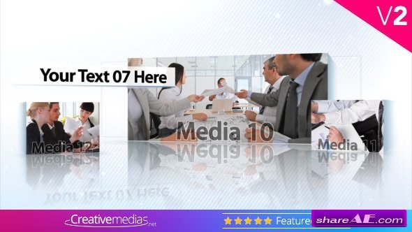 Videohive Corporate Boxes Presentation
