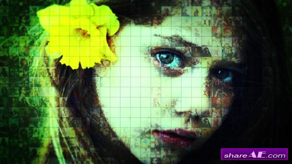 Videohive Mosaic Photo Reveal 21136407
