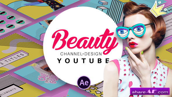 Videohive Beauty Youtube Design Pack