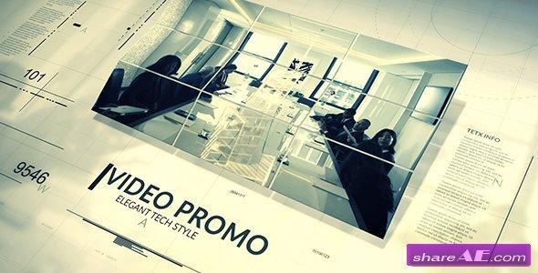 Videohive Tech Style Promo