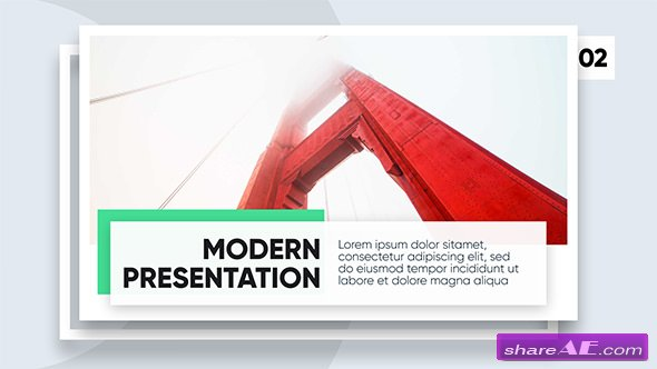 Videohive Modern Promo - Clean Corporate