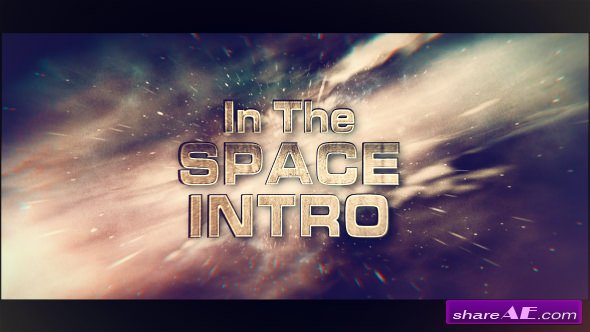 Videohive In The Space Intro