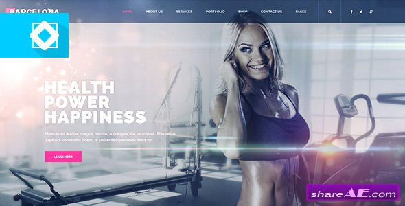 Videohive Website Presentation Minimal