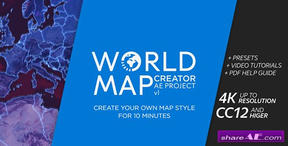 Infographics free after effects templates after effects intro videohive world map creator world map creator 21146904 videohive free after effects templates gumiabroncs Image collections