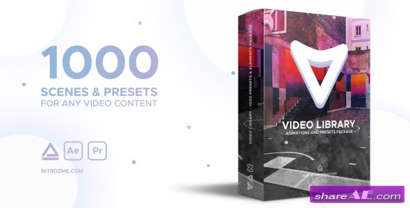 Videohive Video Library - Video Presets Package