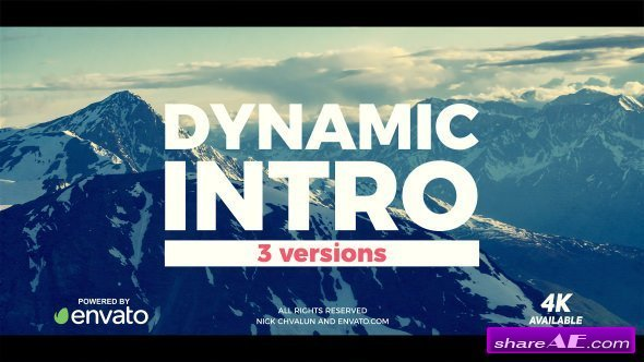Videohive Dynamic Brush Intro