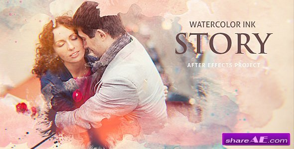 Videohive Watercolor Ink Story